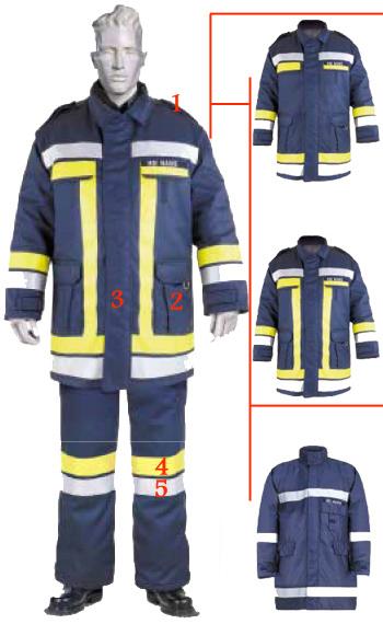 قیمت لباس ضد حریق آتش نشانی